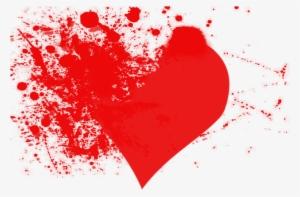Blood splatter 8 bit. Heart clipart png transparent