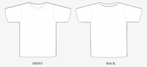 T Shirt Template Png Transparent T Shirt Template Png Image Free Download Pngkey