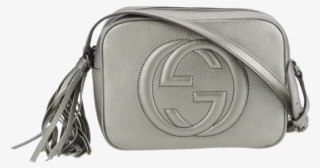 5f9f874adf3 Gucci Soho Disco Bag In Metallic Silver - Gucci Soho Disco Silver  5225116
