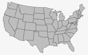 United States Outline PNG, Transparent United States Outline ...
