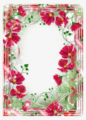 e9ad9c7f83a Beautiful Frame Flowers Clipart Picture Frames Flower - Beautiful Flowers  Photo Frames  603615