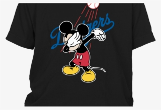 Mlb Los Angeles Dodgers Mickey Mouse Dabbing Mlb Baseball - Los Angeles  Dodgers  6190107 15bec4ddc