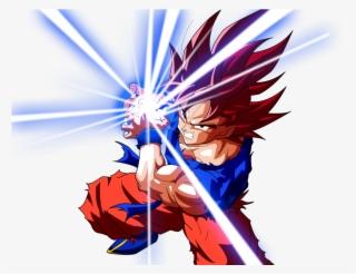 Goku Kaioken Kamehameha Linea By Elvtrkai On Deviantart ...