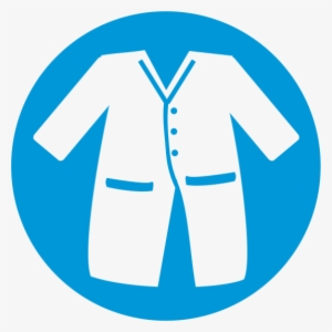 6c5af2e20ea Svg Royalty Free Collection Of Blue High Quality Free - Lab Coat Vector Png   622159