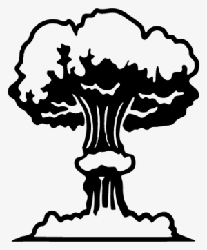 Nuclear Explosion Drawing