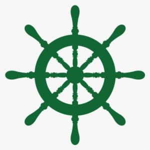 dce8b10f1c0 Ship Wheel Laker School Green Med Right - Dream Big Little One Nautical  #776838