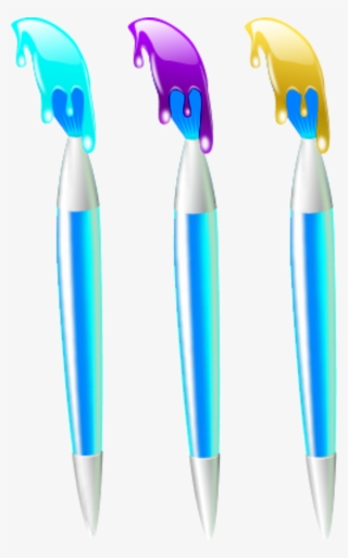 Paint Brush Vector PNG, Transparent Paint Brush Vector PNG Image