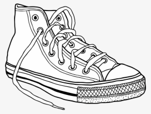 Converse Sneakers Drawing Clip Art - Converse Shoes Drawing  821866 e59505d4d