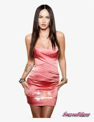 b056f41977af Megan Fox Png Photos - Megan Fox Pink Dress  836174
