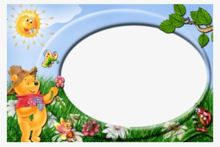 006a4b5374d84 Free Png Best Stock Photos Winnie The Pooh Cute Kids - Pooh Borders And  Frames