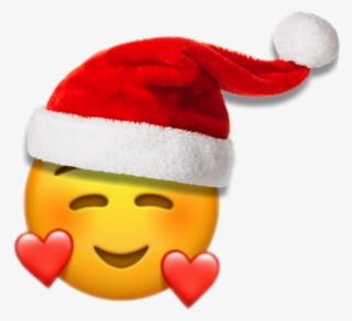 37a807e673f Christmas Sticker - Smiling Face With 3 Hearts Emoji  8615604