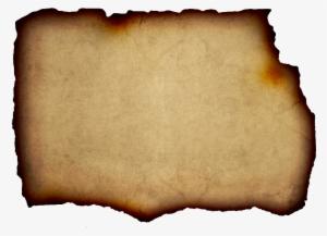 Parchment transparent background. Paper png image free