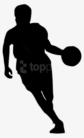 lowest price b854e 232e6 Free Png Basketball Player Silhouette Png Images Transparent - Transparent Basketball  Player Silhouette  9009281