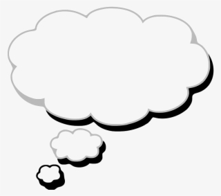 Thought Cloud PNG, Transparent Thought Cloud PNG Image Free Download