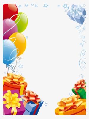 Birthday Border Png Transparent Birthday Border Png Image Free Download Pngkey