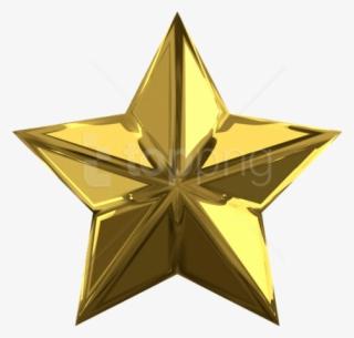 Golden Star PNG, Transparent Golden Star PNG Image Free Download