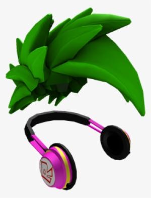 fe1028bbbd7c18 Green Swoosh And Headphones - Green Swoosh Roblox  946228