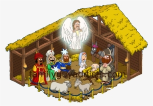 Christmas Nativity Scene With Holy Family Royalty Free Cliparts, Vectors,  And Stock Illustration. Image 24155176.