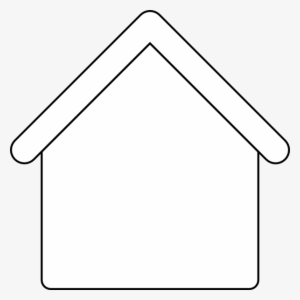 House Outline Template - Blank House Clipart - Free ...
