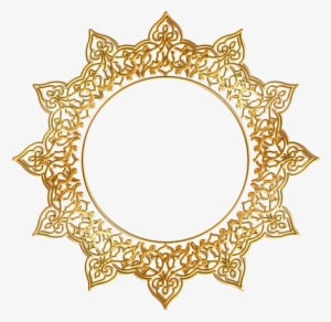 bc00dce4de3b Round Frame PNG